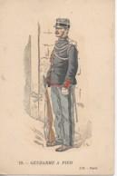 Militaria Gendarme à Pied - Uniformen