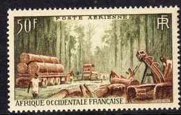 A. O. F.   P. A.  N° 18 XX   Communications Et Flore  : Construction D'une Route à Travers La Forêt Sans Charnière TB - Unused Stamps