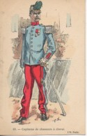 Militaria Capitaine Des Chasseurs à Cheval - Uniformen