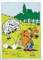 Carte Autocollant Adhésif Boule Et Bill à Saute Mouton - Fumetti
