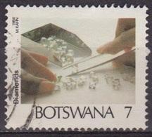 Minéraux - Pierres Précieuses - BOTSWANA - Gemme - Tri Des Diamants - N° 489 - 1984 - Botswana (1966-...)