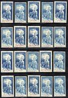 BIG - QUINZANE IMPERIALE 1942 , 20 Esemplari Diversi Di Posta Aerea  * Linguellati (2380A) - Francia (vecchie Colonie E Protettorati)