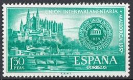 Spagna 1967 Sc. 1459 Palma Cathedral And Conference Emblem MNH Spain Espana - 1931-Oggi: 2. Rep. - ... Juan Carlos I
