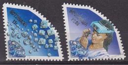 Minéraux - Pierres Précieuses - BOTSWANA - Gemme - Controle Des Diamants - N° 851-853 - 2001 - Botswana (1966-...)
