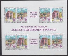 Europa Cept 1990 Monaco  M/s ** Mnh (42258) - 1990