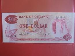 GUYANA 1$ 1966-92 PEU CIRCULER/NEUF - Guyana