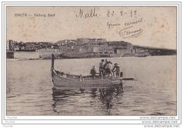 Malta (Malte)  Fishing Boat - Malta