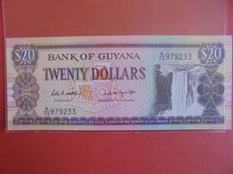 GUYANA 20$ 1996 PEU CIRCULER/NEUF - Guyana