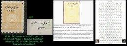 EARLY OTTOMAN SPECIALIZED FOR SPECIALIST, SEE...Mi. Nr. 750 - Mayo 100 CE - Auflagenanteil 535 Marken -RRR- - 1920-21 Anatolie