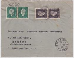 LSC - LA COQUILLE / 5.10.46 - Marcophilie (Lettres)