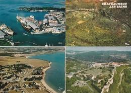 16 Vues Aeriennes De France - Postkaarten
