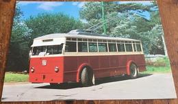 1926 Garrett '0'-type Trolleybus, Built At Leiston, Suffolk With Roe Bodywork Rebuilt In 1950 - Buses & Coaches