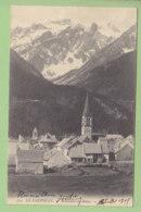 LE MONETIER LES BAINS , Quartier De L'Eglise. Dos Simple. 2 Scans. Edition ? - Autres Communes