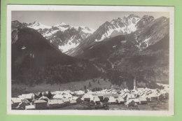 LE MONETIER LES BAINS : Vue Générale Et Glacier. 2 Scans. Edition Colomb - Autres Communes