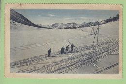 Montgenèvre : Col En Hiver, Versant Italien. Mont Genèvre. 2 Scans. Edition Mollaret - Autres Communes