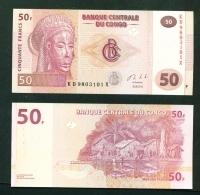 CONGO DR  -  2013  50 Francs  UNC Banknote - Democratic Republic Of The Congo & Zaire