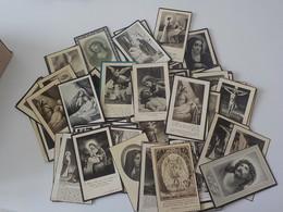 Généalogie  Lot 100 Cartes  Images Mortuaires Avant 1960 Doodprentjes 1 - Décès