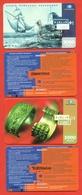 Kazakhstan 2006. Lot Of Two Plastic Phone Cards. - Kazachstan