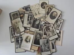 Généalogie  Lot 100 Cartes  Images Mortuaires Avant 1960 Doodprentjes 2 - Décès