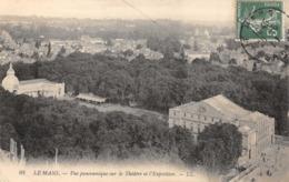 R085305 Le Mans. Vue Panoramique Sur Le Theatre Et L Exposition. LL. No 08. 1911 - Cartes Postales