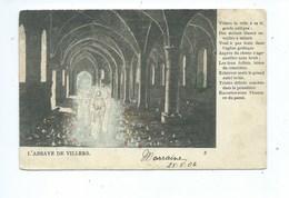 Villers La Ville Abbaye ( Carte 1900 En Couleur  ) - Villers-la-Ville