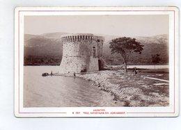 AK-1171/ Trau Trogir Hafenthurm  Montenegro Kabinettfoto Alois Beer ~ 1900 - Photos