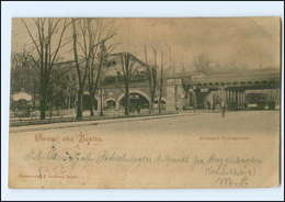 XX003958/ Berlin Bahnhof Tiergarten Straßenbahn 1899 AK - Allemagne