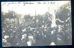 Cpa Carte Photo Du 53 St Julien Des Eglantiers Fête Du 9 Juillet 1922 -- Commune De Pré En Pail - Saint Samson     ACH14 - Pre En Pail