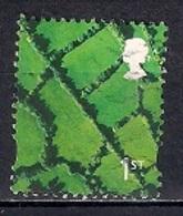 Great Britain 2001 -  Aerial View Of Patchwork Fields - 1952-.... (Elizabeth II)