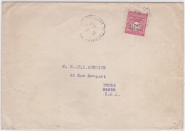 LSC - N°710 OBL. 12.8.45 - Marcophilie (Lettres)