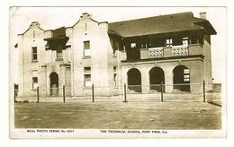 South Australia (SA), Spencer Gulf, Port Pirie, Technical School (partly Under Construction?), Photo Postcard - Australia