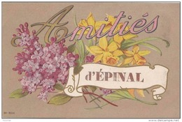 A 11 - 88) EPINAL - AMITIÉS  - (CARTE FANTAISIE - 2 SCANS) - Epinal
