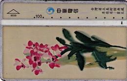 TARJETA TELEFONICA DE TAIWAN. Taiwan Beauty Salon -Orchid. ORQUIDEA. 941O. 9039. (044). - Flores