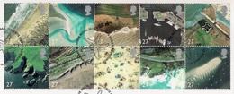 Great Britain 2002 - Coastlines - Gebruikt