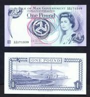 ISLE OF MAN  -  2009  £1  Signature Shimmin  UNC Banknote - [ 4] Isle Of Man / Channel Island