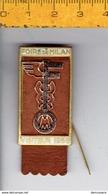 M W -SOL - FOIRE DE MILAN VISITEUR 1958 - Italia