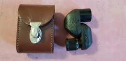 Optique D'observation Turmon 8x21  Carl Zeiss Jena N° 3131075 Version GDR D'après-guerre Avec étui - Matériel & Accessoires