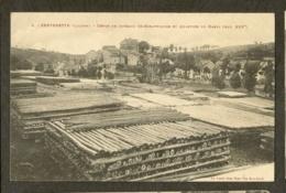 CP-SERVERETTE - Dépot De Poteaux Télégraphiques Et Quartier Du Barry - France