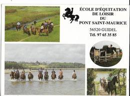 GUIDEL Ecole D'Equitation De Loisir Du PONT-SAINT MAURICE Ed. Cartisabelle - Guidel