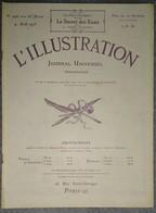 L'Illustration 4196 4 Aout 1923 Epaves D'Hossegor/Montmartre/Ligne Aérienne Casablanca-Dakar/Marquis De Juigné/Zita - L'Illustration