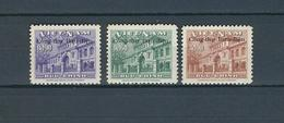 SOUTH VIETNAM, 1956 UPU Membership Overprints 3v MNH - U.P.U.