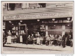 G27- 75) PARIS (V°)  BRASSERIE BALZAR  - 49 ,  RUE DES ECOLES   -  (2 SCANS) - Arrondissement: 05