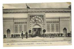 CPA 69 LYON EXPOSITION 1914 PAVILLON DE LA PERSE - Autres