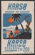 Denmark, Poster Stamp, Maerkat Nr. 1845, Mounted! - Emissions Locales