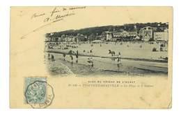 CPA 14 TROUVILLE-DEAUVILLE LA PLAGE ET LE CASINO - Deauville