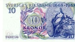 Sweden P.56 10 Kronur 1968 Unc - Sweden