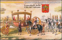 Vatikan-Markenheftchen 0-6 Kutschen Und Automobile, ** - Markenheftchen