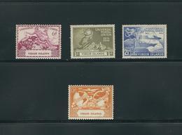 BRITISH VIRGIN ISLANDS, 1949, 75 YEARS UPU 4v MNH - U.P.U.