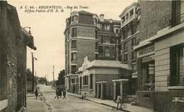 VAL D'OISE  ARGENTEUIL  Rue Du Tronc  OFFICE PUBLIC - Argenteuil