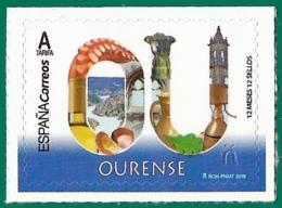 España. Spain. 2019. 12 Meses, 12 Sellos. Ourense. Orense - 1931-Heute: 2. Rep. - ... Juan Carlos I